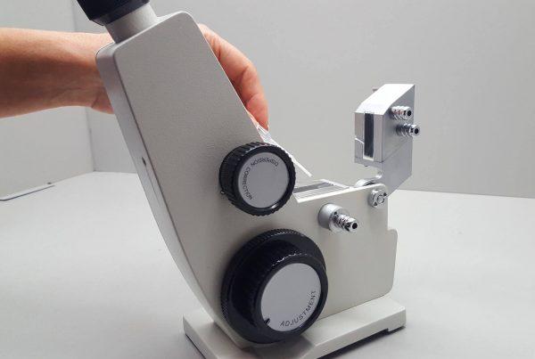 Tecnología de calibración acreditada por la ENAC (refractómetro)