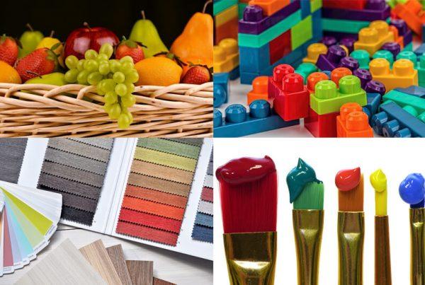 Intercomparación en la industria (alimentación , textil, pintura...)