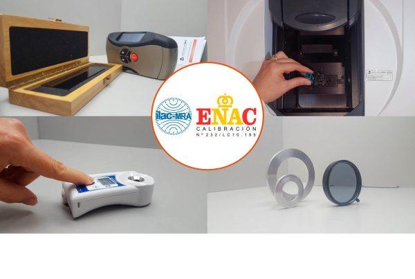Acreditación ENAC área ótpica