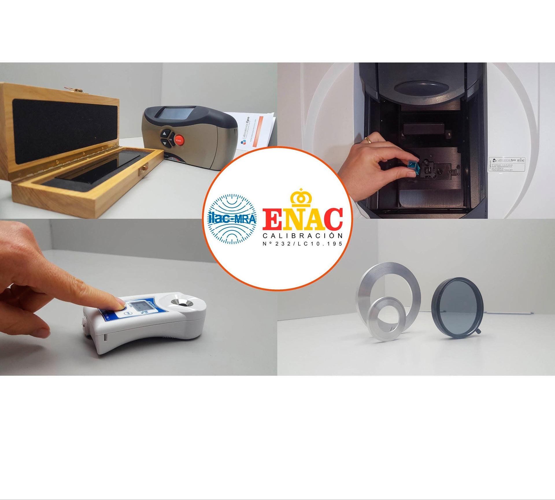 Laboratorios Eyco cuenta con la acreditación ENAC más extensa de España en el área óptica