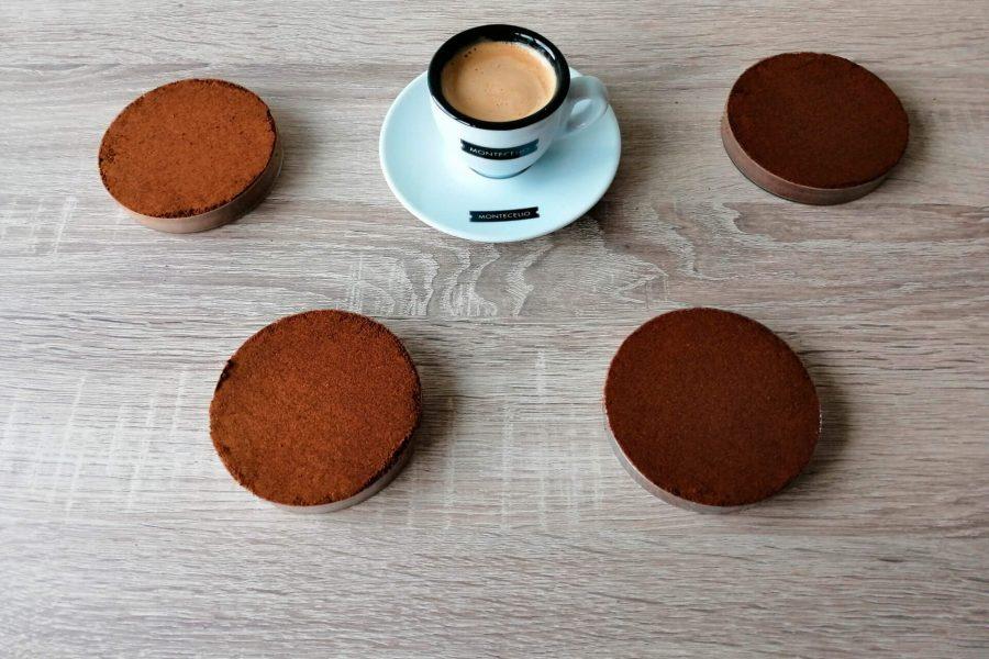 Colores café tostado