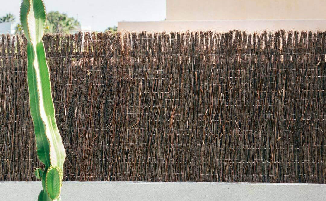 ¿Puede medirse el porcentaje de ocultación de los brezos, cañizos y setos artificiales?